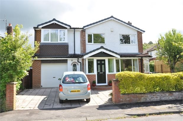 Thumbnail Detached house for sale in Baliol Road, Stocksfield