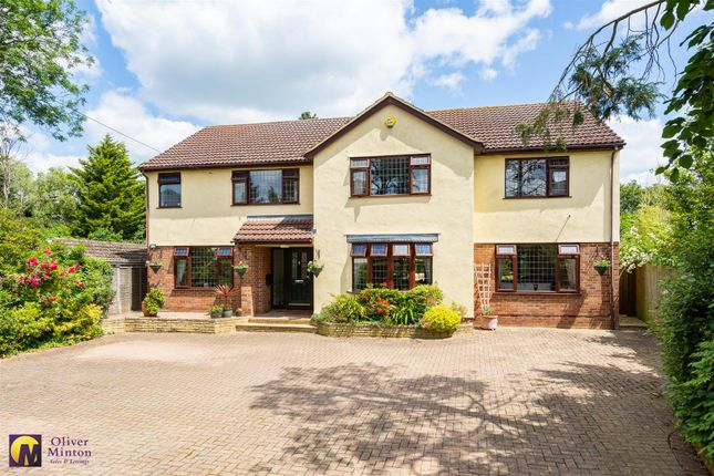 Thumbnail Detached house for sale in Epping Road, Roydon, Harlow