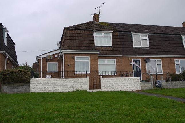 Thumbnail End terrace house for sale in Shelley Crescent, Barry