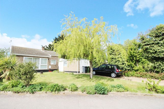 Thumbnail Detached bungalow for sale in Halt Road, Caister-On-Sea