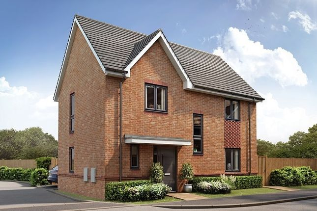 "Thumbnail 3 bed property for sale in ""The Romano"" at Botley Road, Curbridge"