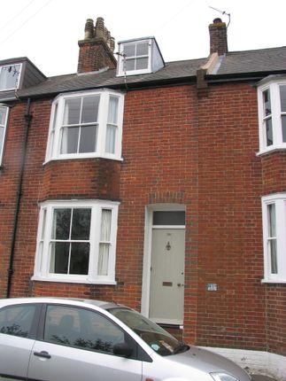 Thumbnail Terraced house to rent in De Montfort Road, Lewes