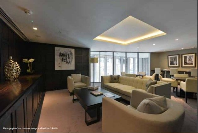 Residents Lounge of Alie Street, Aldgate E1
