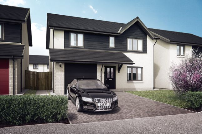 Thumbnail Detached house for sale in The Larch, Kinion Place, Aberdeen