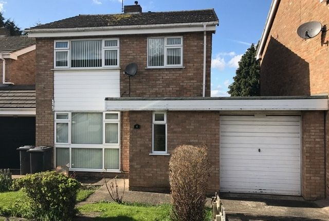Thumbnail Detached house to rent in Colebrook Close, Leicester