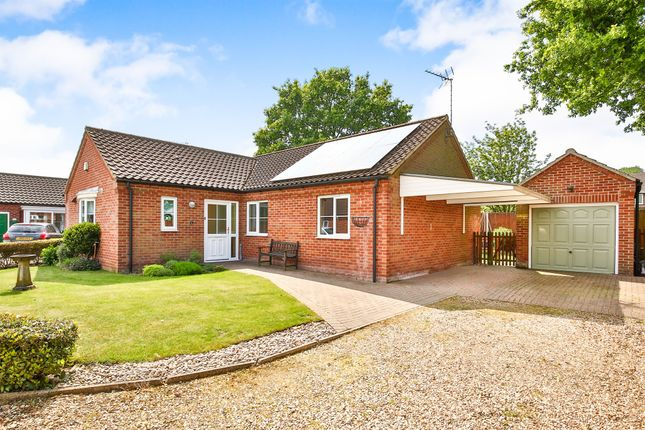 Thumbnail Detached bungalow for sale in Nidus Gardens, Toftwood, Dereham