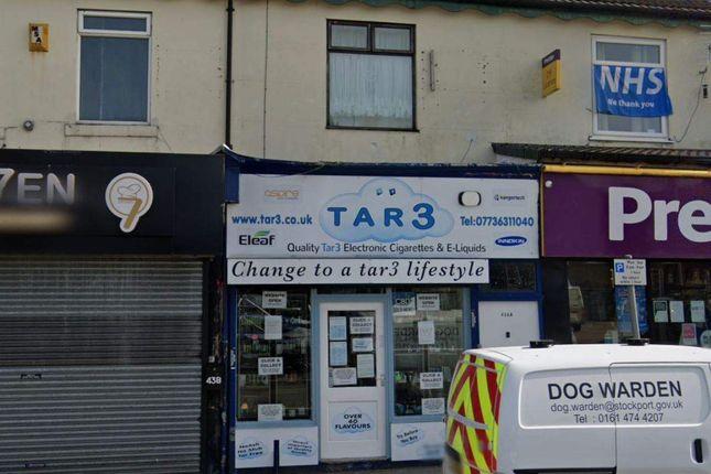 Thumbnail Retail premises for sale in Gorton Road, Reddish, Stockport