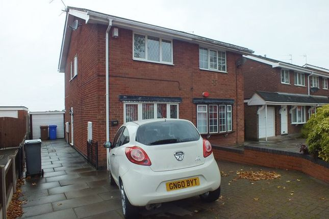 Thumbnail Semi-detached house to rent in Turnhurst Road, Packmoor, Stoke-On-Trent