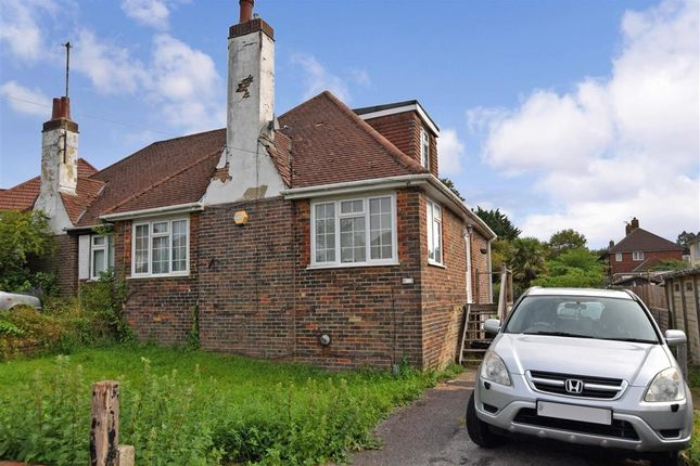 Thumbnail Bungalow for sale in Carden Crescent, Patcham, Brighton, East Sussex