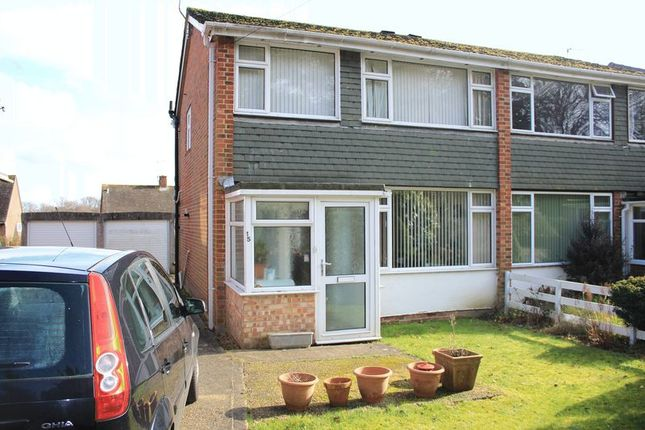 Thumbnail Semi-detached house for sale in Greatwood Close, Hythe, Southampton