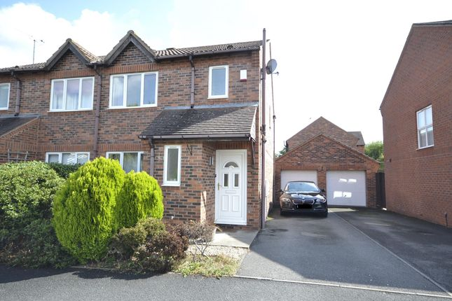 Thumbnail Semi-detached house to rent in Whitefields Road, Bishops Cleeve