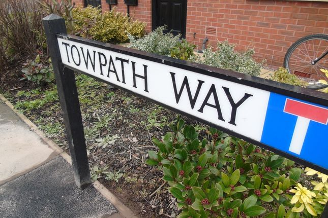 Thumbnail Town house to rent in Towpath Way, Spondon, Derbyshire