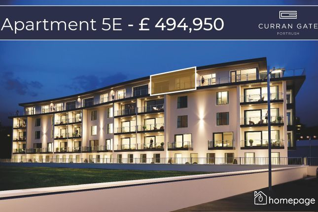 Thumbnail Property for sale in Penthouse 5E, Curran Gate Apartments, Portrush