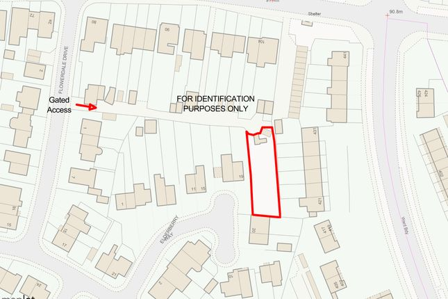 Thumbnail Land for sale in Land Accessed By Flowerdale Drive, Wyken, Coventry