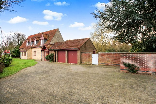 Thumbnail Detached house for sale in Fulbridge Road, Werrington, Peterborough