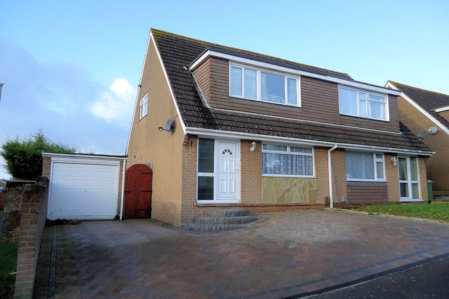 Thumbnail Semi-detached house to rent in Gaylyn Way, Fareham