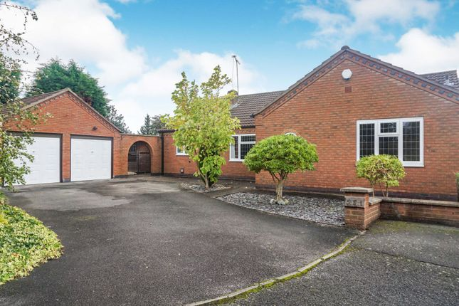 Thumbnail Detached bungalow for sale in Tamworth Road, Sawley, Long Eaton, Nottingham
