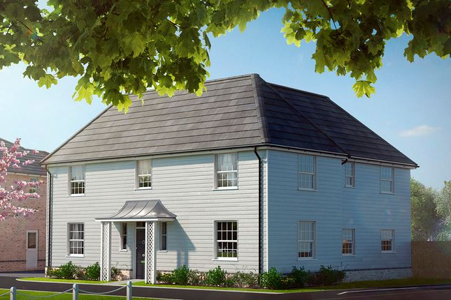 Thumbnail Detached house for sale in Clacton Road, Elmstead, Colchester