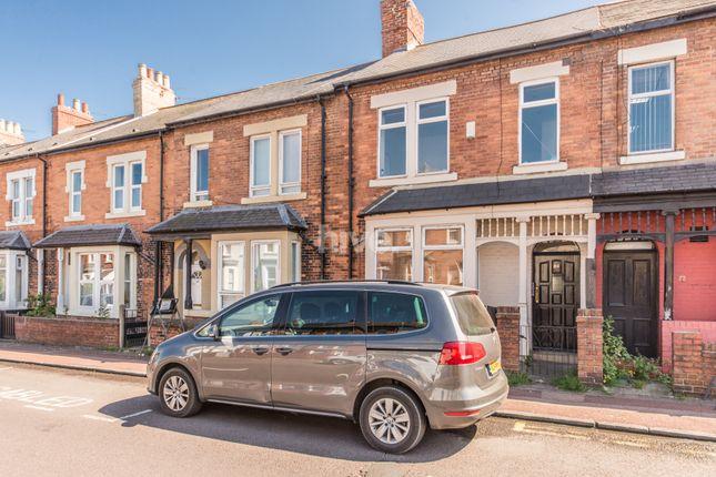Thumbnail Terraced house for sale in Meldon Terrace, Heaton, Newcastle Upon Tyne