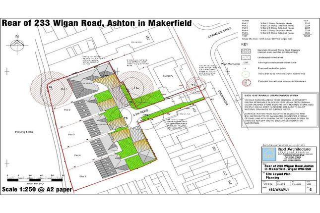 Thumbnail Land for sale in Wigan Road Wigan Road, Ashton-In-Makerfield, Wigan
