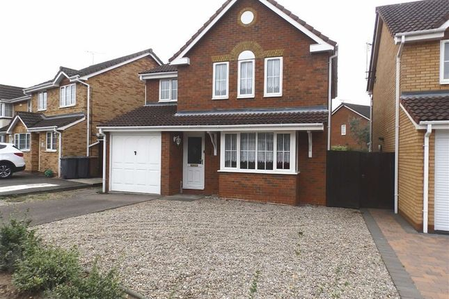 Thumbnail Detached house to rent in Woodrush Road, Purdis Farm, Ipswich
