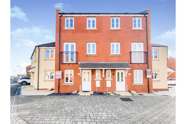 Thumbnail Terraced house for sale in Birkbeck Chase, Weston-Super-Mare