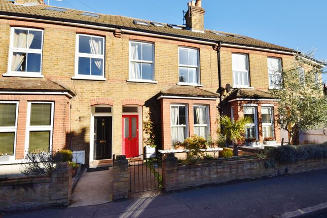 Thumbnail Terraced house to rent in Holly Road, Hampton Hill