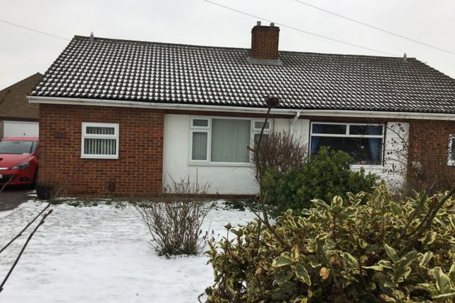 Thumbnail Bungalow to rent in Holme Court Avenue, Biggleswade