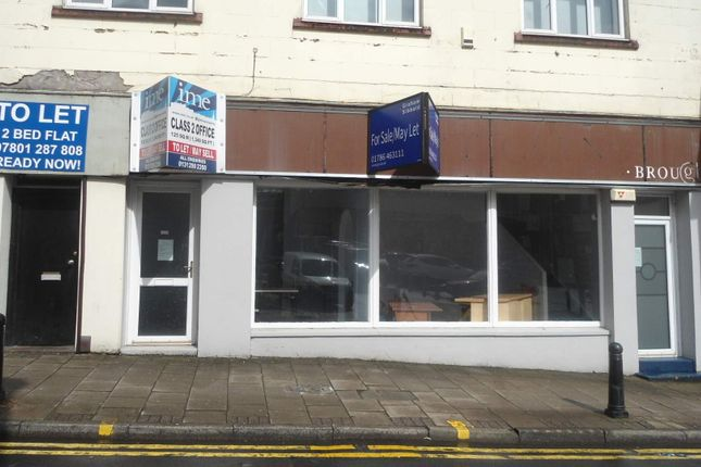 Thumbnail Retail premises for sale in 102 Manor Street, Falkirk