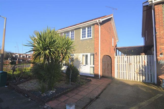 Thumbnail Semi-detached house for sale in Golding Crescent, Stanford-Le-Hope, Essex