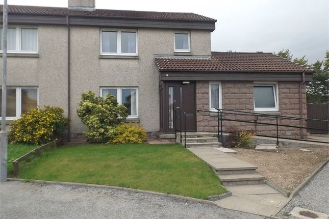 Thumbnail Semi-detached house for sale in Farrochie Gardens, Stonehaven, Aberdeenshire