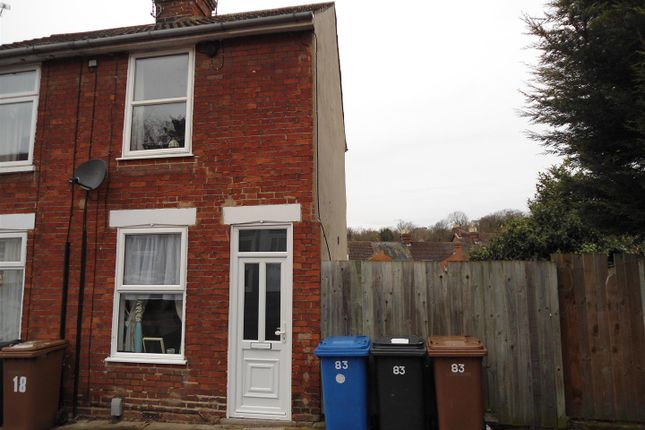 Thumbnail End terrace house for sale in Finchley Road, Ipswich