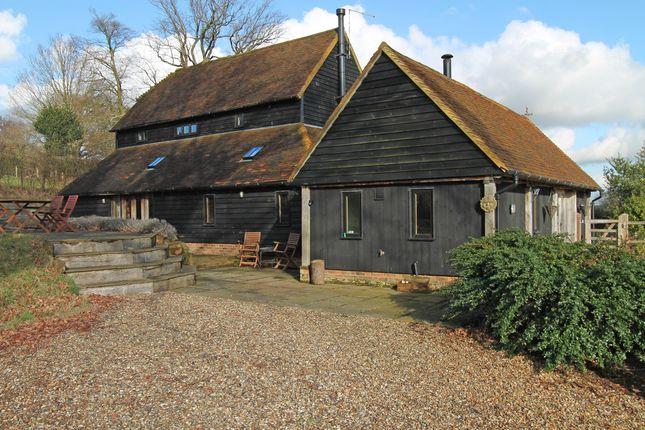 Thumbnail Barn conversion for sale in Chicks Lane, Kilndown, Cranbrook