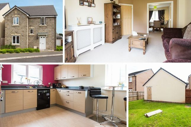 Thumbnail Detached house for sale in Heol Y Groes, Cwmbran