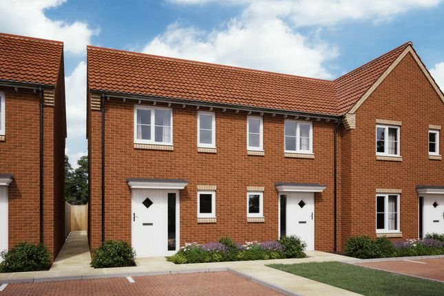Thumbnail 1 bed terraced house for sale in Burdock Spur, Didcot