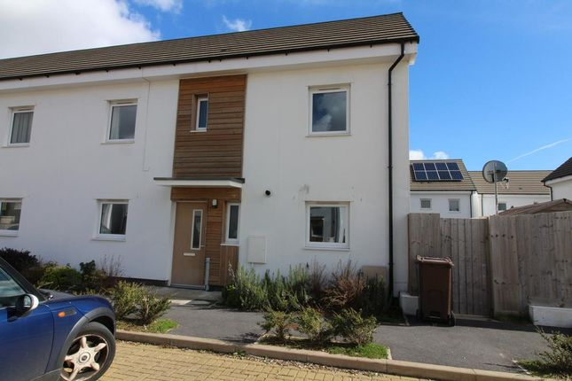 Thumbnail Semi-detached house for sale in Plymview Close, Plymouth