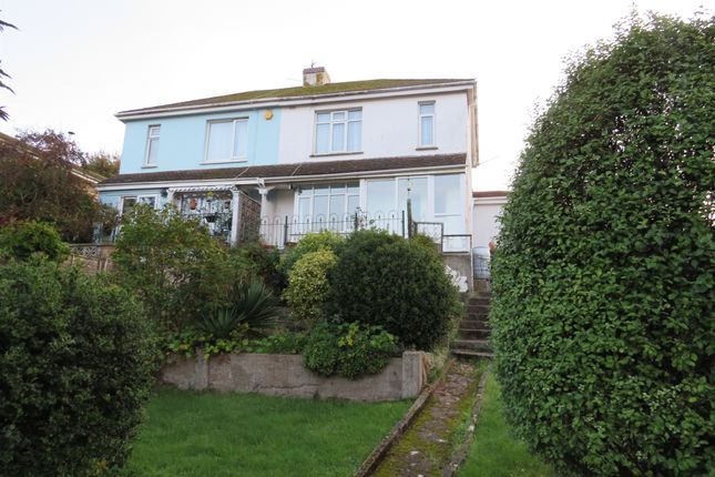 Thumbnail Semi-detached house for sale in Keatings Lane, Teignmouth