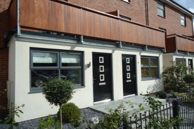 Thumbnail Town house to rent in Nell Lane, West Didsbury