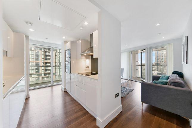 Living Area of Talisman Tower, Lincoln Plaza, Canary Wharf E14