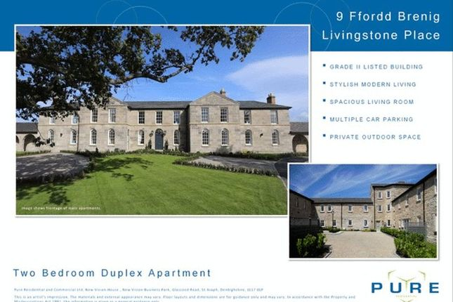 Thumbnail Flat for sale in Lo6, Upper Denbigh Road, St. Asaph