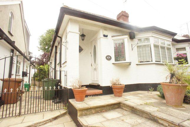Thumbnail Semi-detached bungalow for sale in Yardley Lane, London