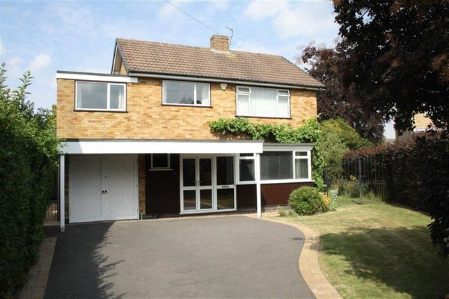 Thumbnail Detached house for sale in Kelvon Close, Glenfield, Leicester