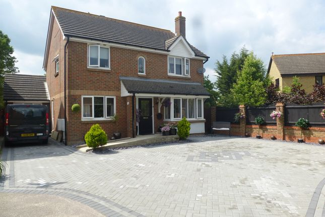 Thumbnail Detached house for sale in Bluebell Close, Kingsnorth, Ashford