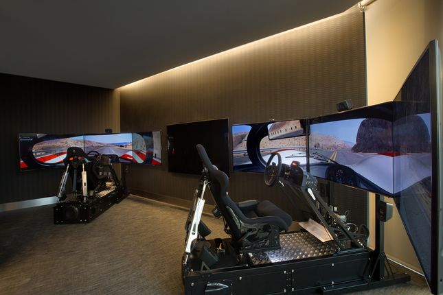 Porsche Design Tower In Miami - Simulator Racing Room
