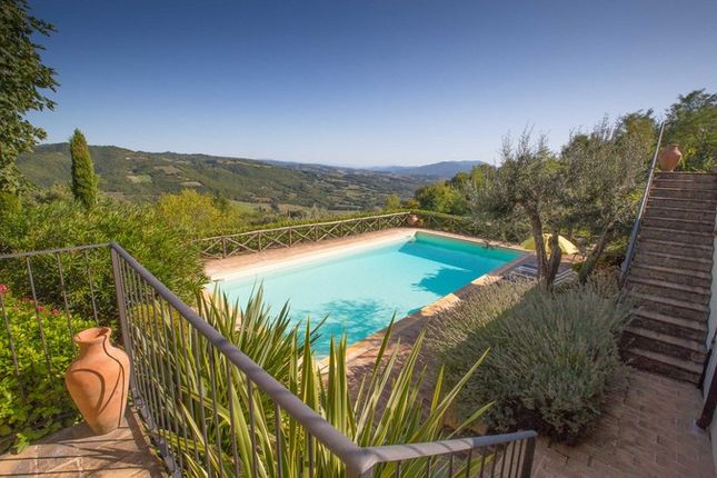 Montone A Piedi, Montone, Pool With Stairs And View