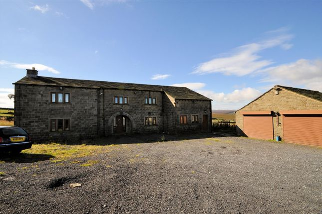 Thumbnail Detached House For Sale In Slate Delfs Farm New Road Cragg Vale