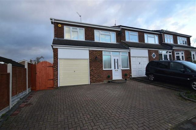 Thumbnail End terrace house for sale in Sheringham Close, Stanford-Le-Hope, Essex