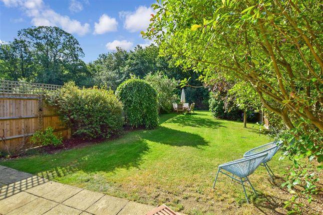 Rear Garden of Greensand Ridge, Kingswood, Maidstone, Kent ME17