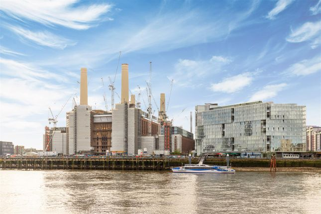 Thumbnail Flat for sale in Switch House Building, Battersea Power Station, London