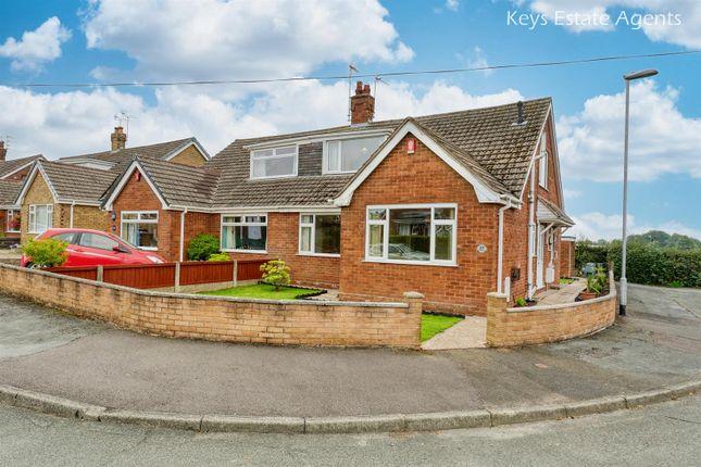 Thumbnail Semi-detached bungalow for sale in Bernard Grove, Meir Heath, Stoke-On-Trent